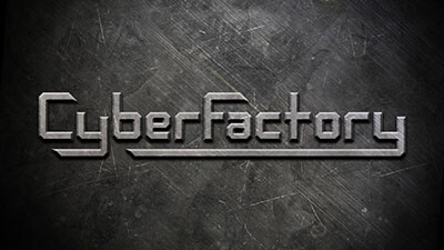 Cyber Factory game logo